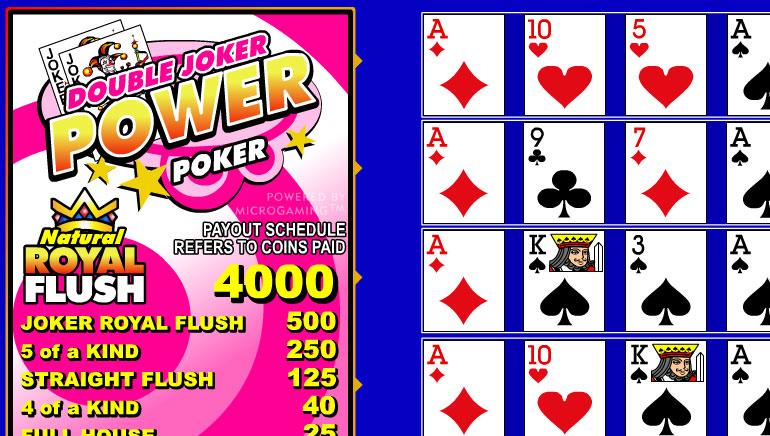 Double Joker  Power Poker